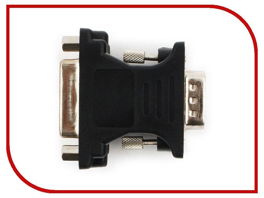 Купить Аксессуар Gembird Cablexpert VGA-DVI 15M/25F A-VGAM-DVIF-01 Black