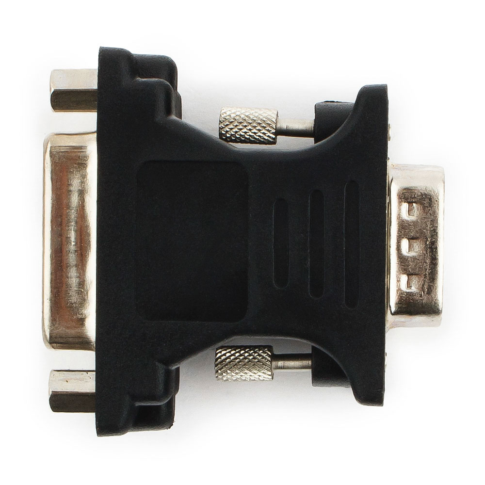 Фото - Аксессуар Gembird Cablexpert VGA-DVI 15M/25F A-VGAM-DVIF-01 Black аксессуар gembird cablexpert displayport vga 20m 15m 1 8m black ccp dpm vgam 6