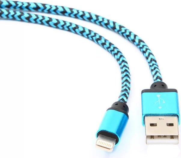 Аксессуар Gembird Cablexpert USB AM/Lightning 8P 1m Blue CC-ApUSB2bl1m  - купить со скидкой
