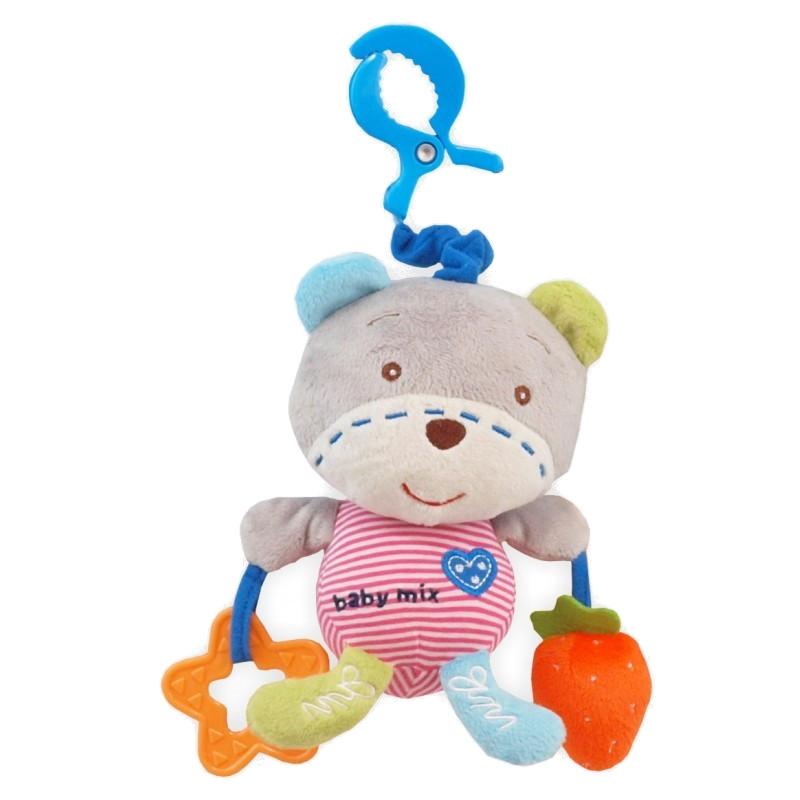 игрушка азбукварик мишка косолапый 4680019281858 Игрушка Baby Mix Мишка 1129