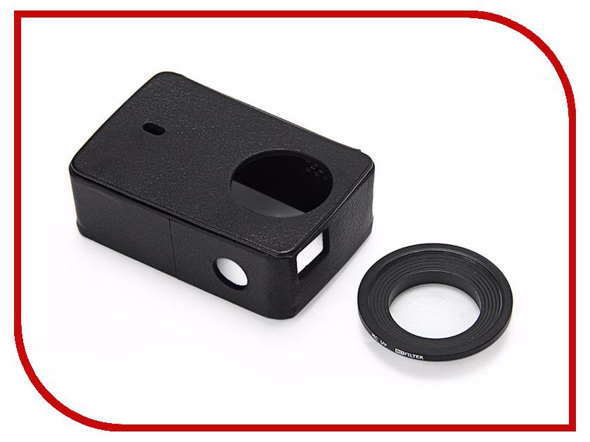 Купить Аксессуар Xiaomi Чехол + УФ-защитная крышка объектива для Xiaomi Yi 2 4K Black