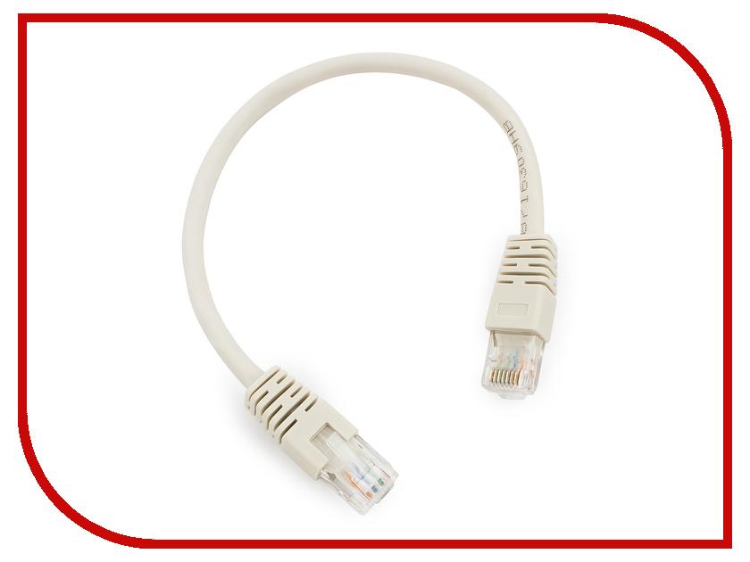 Купить Сетевой кабель Gembird Cablexpert UTP cat.6 0.25m Blue PP6U-0.25M/B