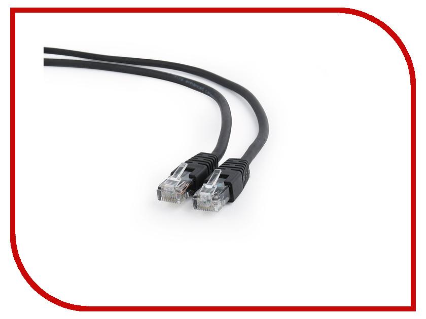 Купить Сетевой кабель Gembird Cablexpert UTP cat.6 1m Black PP6U-1M/BK