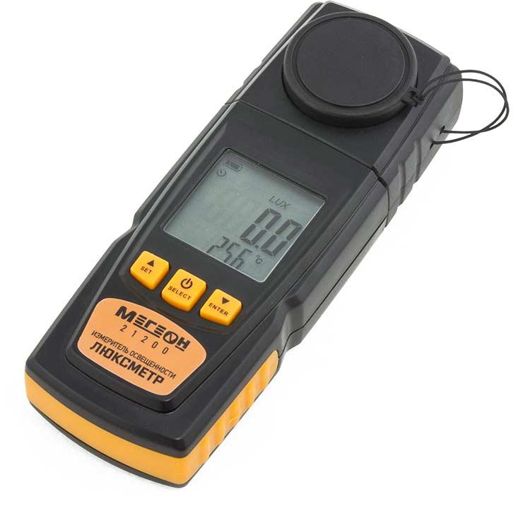 измеритель глубины протектора шин автостоп ab 90100 chrome Измеритель освещенности Мегеон 21200