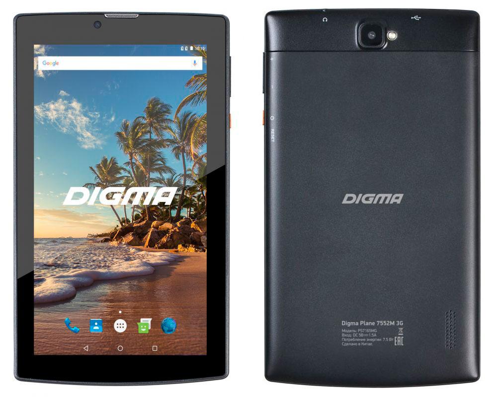 планшет dexp ursus 8e2 mini 3g купить Планшет Digma Plane 7552M 3G