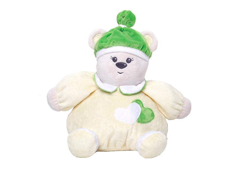 игрушка азбукварик мишка косолапый 4680019281858 Игрушка Princess Love Мишка-погремушка Yellow