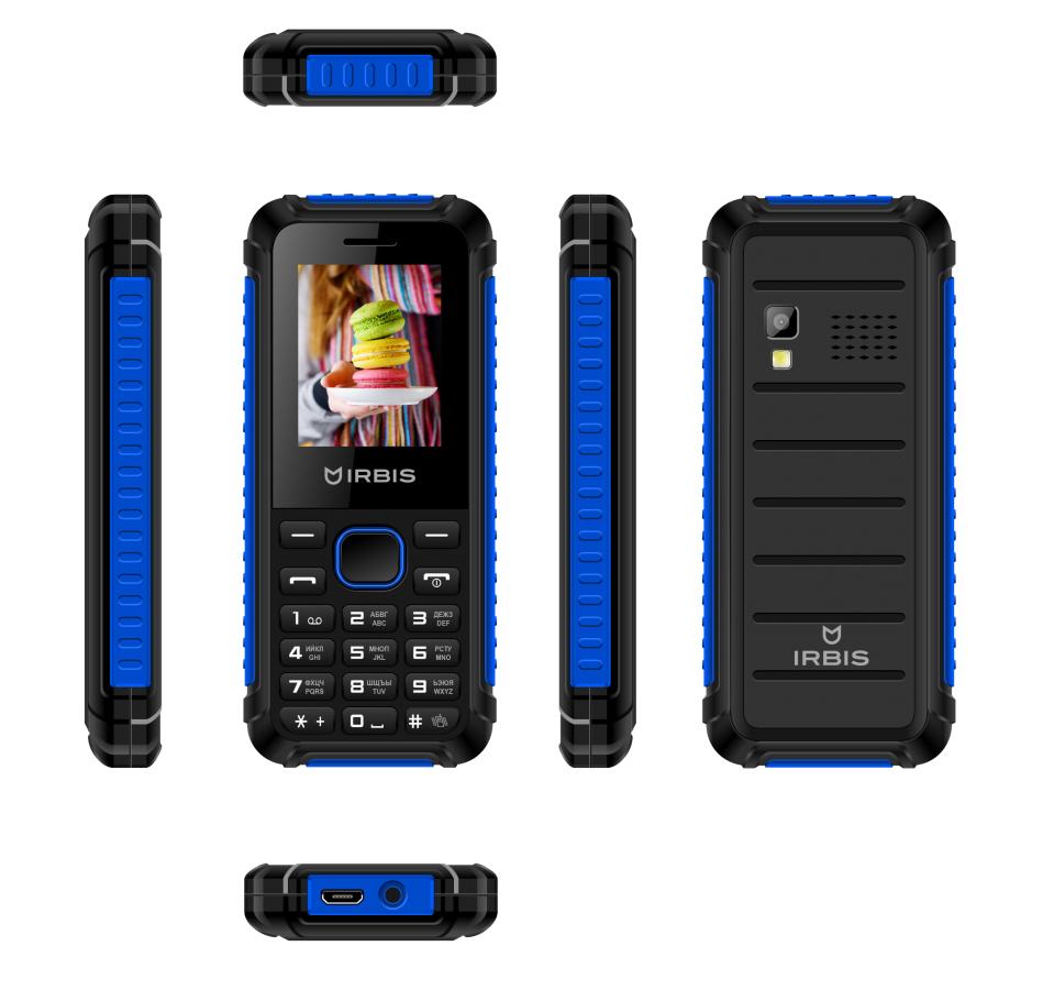 сотовый телефон fly slimline black blue Сотовый телефон Irbis SF17x Black-Blue