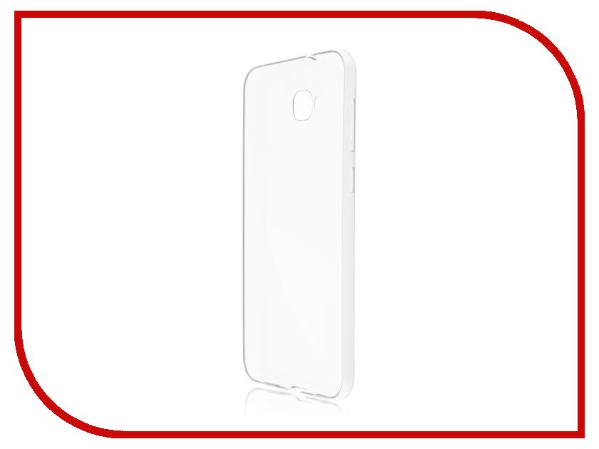 Купить Аксессуар Чехол Brosco для ASUS ZenFone 4 Selfie ZD553KL Silicone Transparent AS-ZF4S-TPU-TRANSPARENT