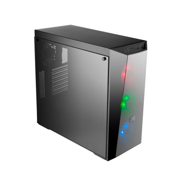 корпус exegate evo 8203n w o psu black ex277151rus 277151 Корпус Cooler Master MasterBox 5 Lite RGB (MCW-L5S3-KGNN-02) w/o PSU Black