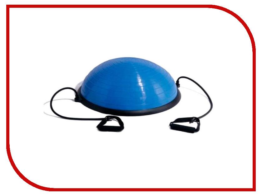 Купить Тренажер Indigo Bosu Полусфера с эспандерами d-60cm