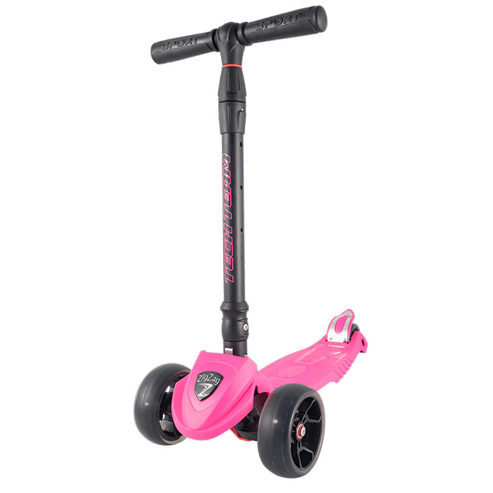 самокат tech team surf girl 2019 pink Самокат Tech Team Zig Zag Pink