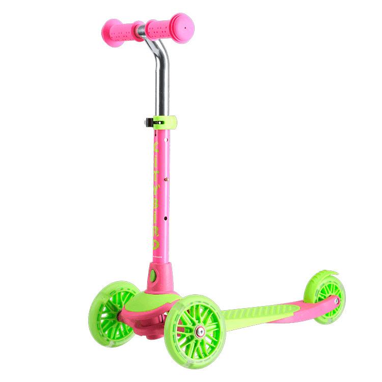 самокат tech team surf girl 2019 pink Самокат Tech Team City Bird Pink-Light Green