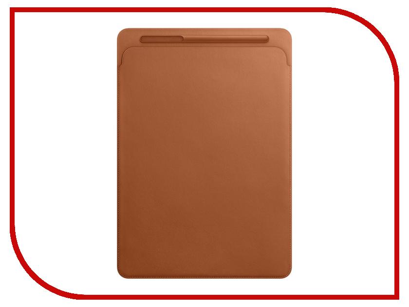 Купить Аксессуар Чехол APPLE iPad Pro 12.9 Leather Sleeve Saddle Brown MQ0Q2ZM/A