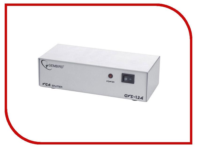 Купить Аксессуар Gembird Cablexpert Разветвитель VGA HD15F/4x15F GVS124
