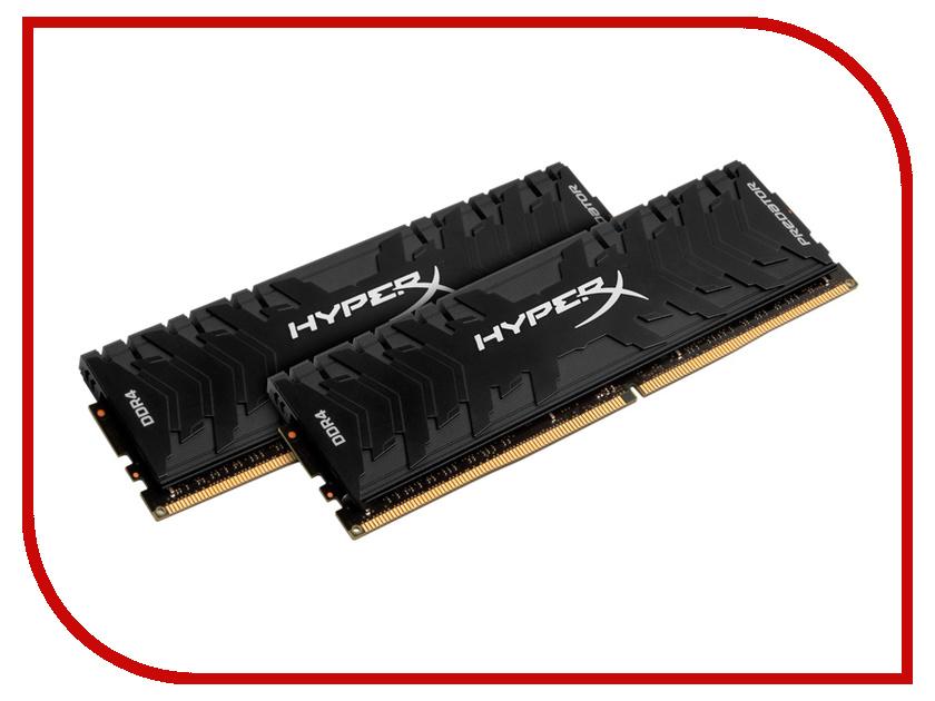 Купить Модуль памяти Kingston HyperX Predator DDR4 DIMM 3200MHz PC4-25600 - CL16 16Gb KIT (2x8Gb) HX432C16PB3K2/16