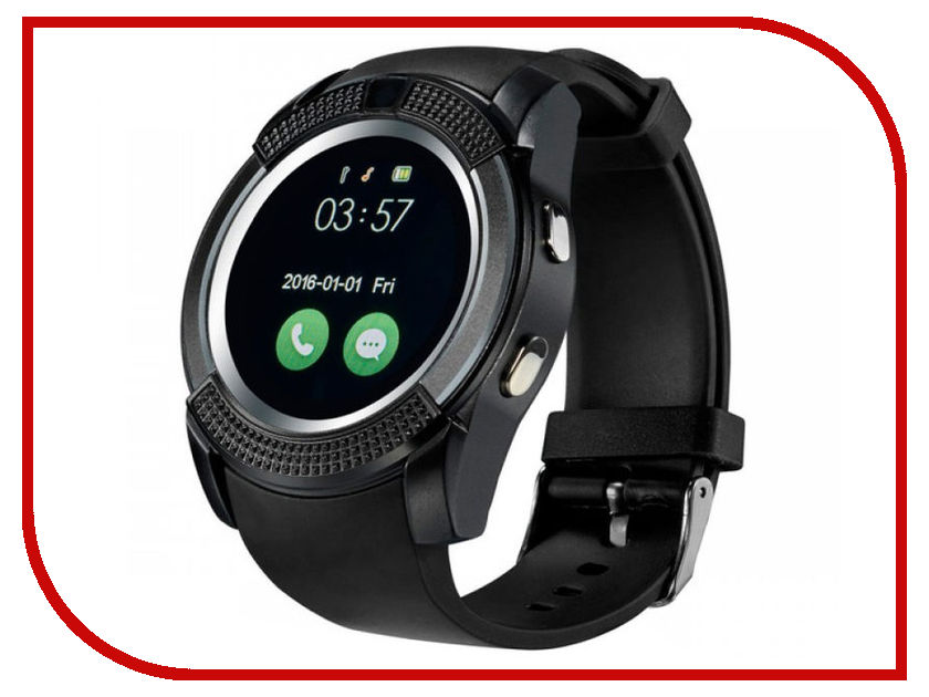 Умные часы ZDK V8 Black  - купить со скидкой