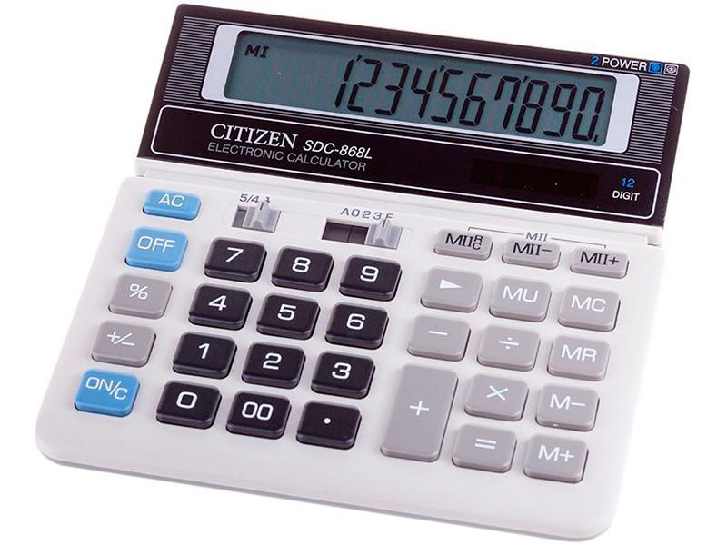 купить калькулятор citizen sdc 554s Калькулятор Citizen SDC-868L