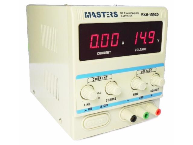 Лабораторный блок питания Masters 1502D  - купить со скидкой