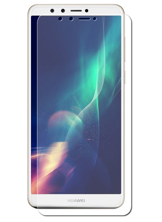 аксессуар чехол red line для huawei y9 2018 unit black ут000014545 Аксессуар Защитное стекло Red Line для Huawei Y9 2018 Tempered Glass УТ000014499