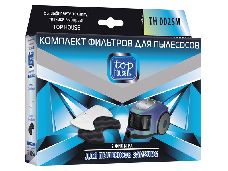 Комплект фильтров Top House TH 002SM 2шт 4660003392821
