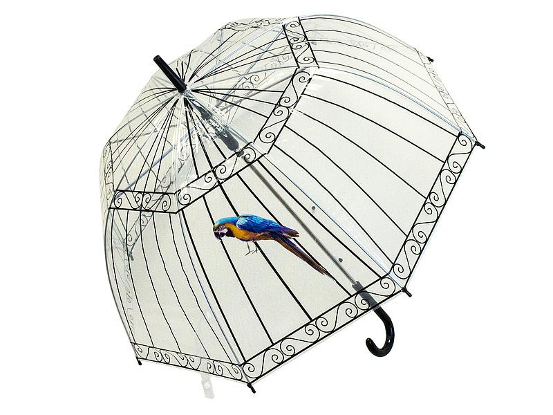Зонт Эврика Клетка с попугаем 98770