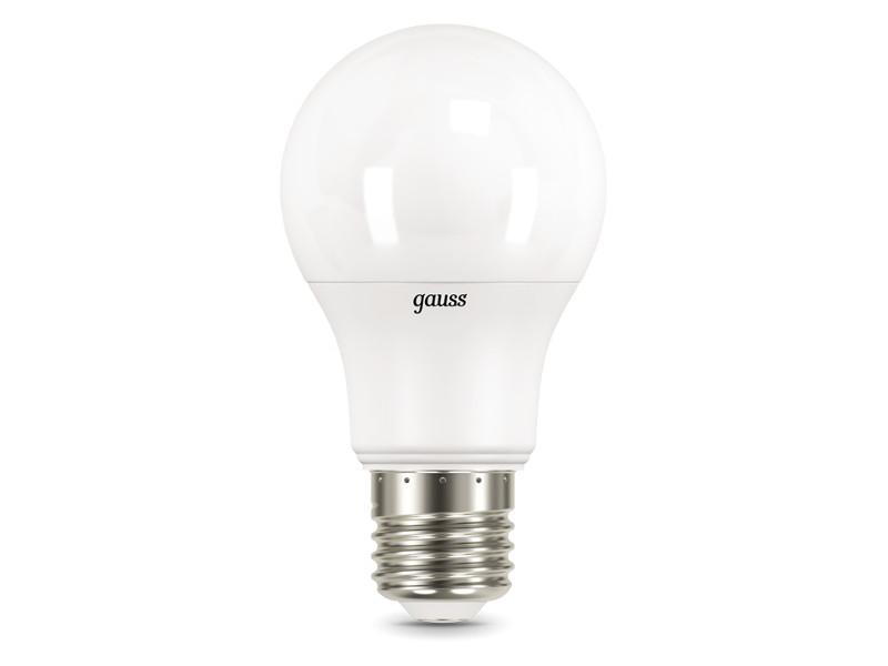 Лампочка Gauss LED E27 A60 10W 4100K 102502210