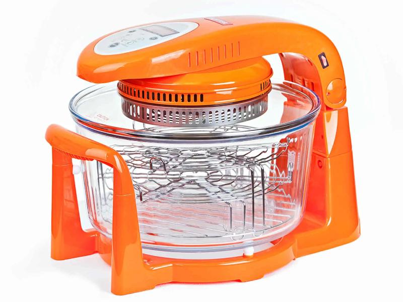 Купить Аэрогриль Hotter HX-1097 Tiger Orange
