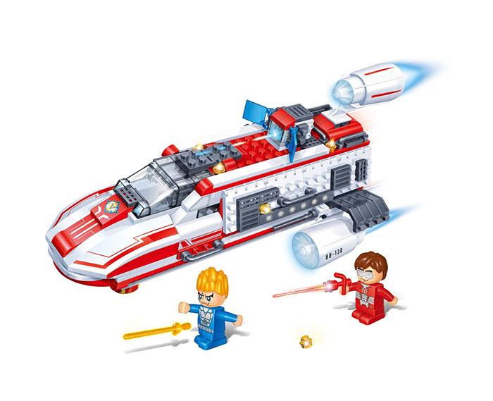 скарлетт аппарат для маникюра Конструктор BanBao Космический летательный аппарат 237 дет. Red 6407 / 52940