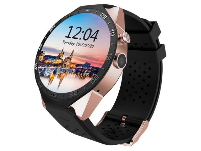 умные часы kingwear kw98 black Умные часы KingWear KW88 Gold