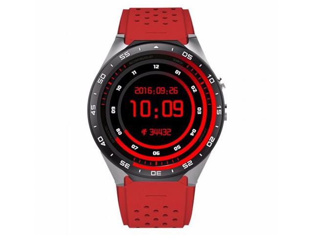 умные часы kingwear kw98 black Умные часы KingWear KW88 Red