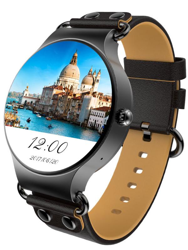 умные часы kingwear kw18 silver Умные часы KingWear KW98 Black