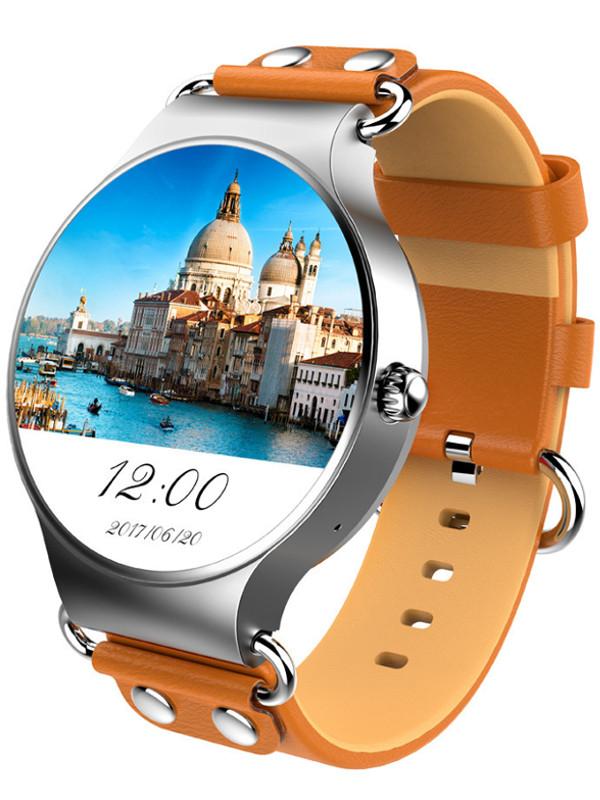 умные часы kingwear kw18 silver Умные часы KingWear KW98 Silver-Sand