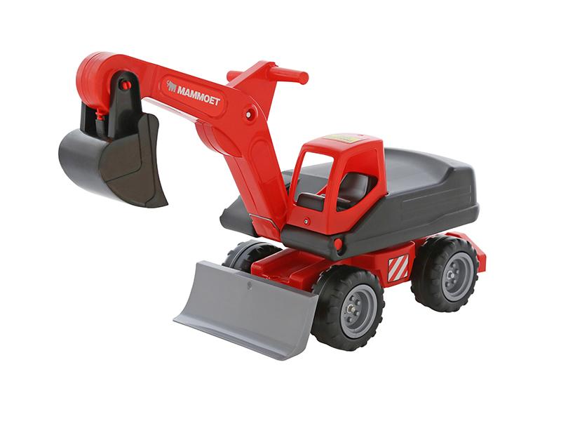 игрушка наша игрушка экскаватор снегоуборочный 6655 6 Игрушка Полесье Мега-экскаватор колёсный MAMMOET 202-01 56740