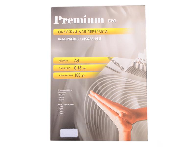 Купить Обложки для переплета Office Kit 100шт пластик Transparent PCA400180