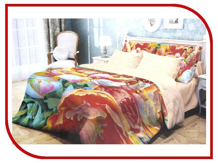 Купить Постельное белье Волшебная Ночь Прованс Butterfly Комплект 1.5 спальный Ранфорс 702128, Волшебная ночь