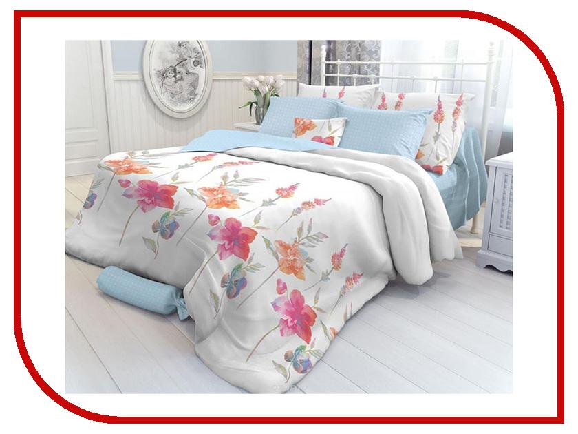 Купить Постельное белье Verossa Constante Color Flowers Комплект 1.5 спальный Перкаль 707890, Color Flowers 707890
