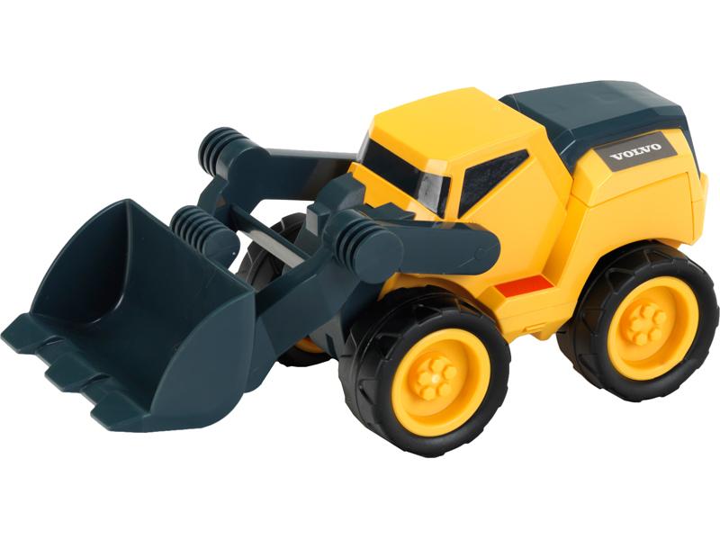 игрушка наша игрушка погрузчик вилочный 6655 7 Игрушка Klein Погрузчик VOLVO 2429