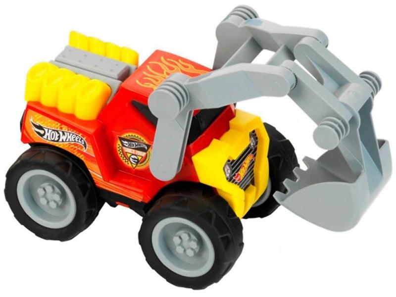 игрушка наша игрушка экскаватор снегоуборочный 6655 6 Игрушка Klein Экскаватор Hot Wheels 2445