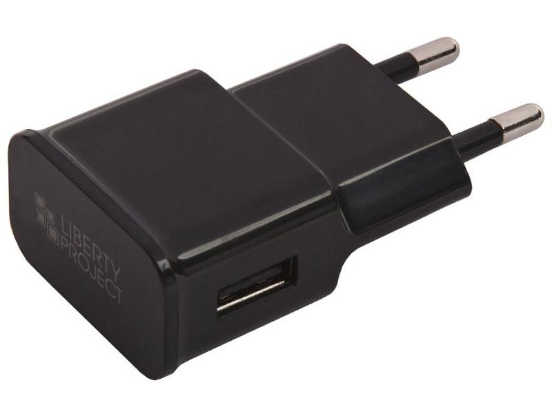 Зарядное устройство Liberty Project USB USB-Type-C 2.1A Black 0L-00032730