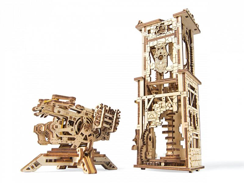 ямато линкор сборная модель Сборная модель UGears Башня-Аркбалиста