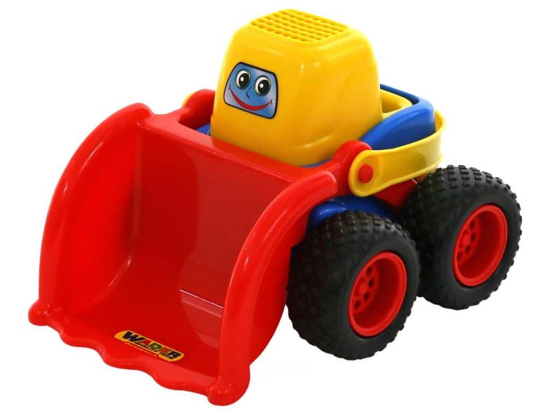 игрушка наша игрушка погрузчик вилочный 6655 7 Игрушка Полесье Трактор-погрузчик Чип-макси 53855