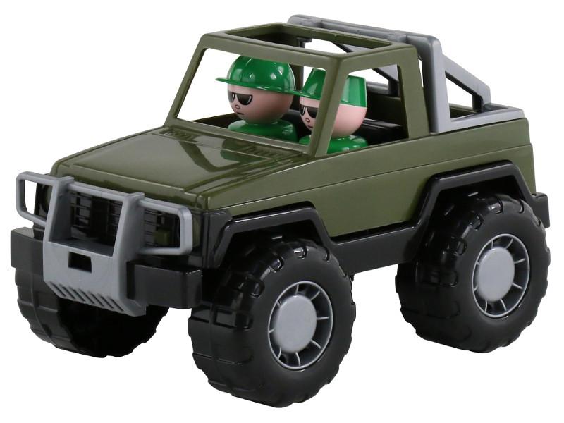 Игрушка Полесье Джип военный Сафари 47038, Беларусь  - купить со скидкой