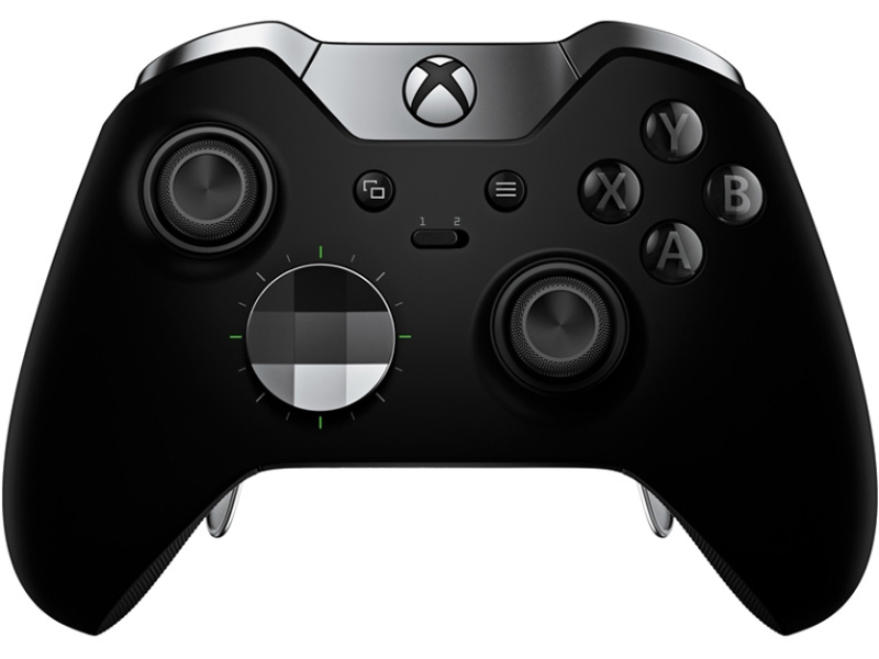 игровая приставка microsoft xbox one s 1tb zenit lion rb xb13 Microsoft Xbox One Wireless Controller Elite Black HM3-00009