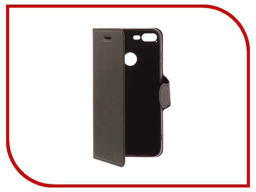 Купить Аксессуар Чехол-книжка для Honor 9 Lite Red Line Book Type Black УТ000014620, Huawei Honor 9 Lite