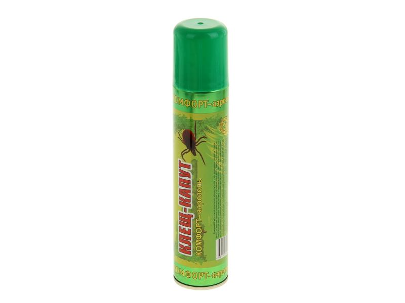Средство защиты от комаров Ваше Хозяйство Аэрозоль Клещ-капут Комфорт 1108778
