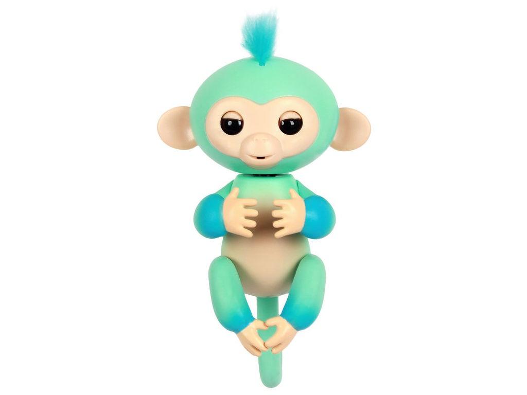 rovio wowwee Игрушка WowWee Fingerlings Обезьянка Эдди Blue 12 см 3724