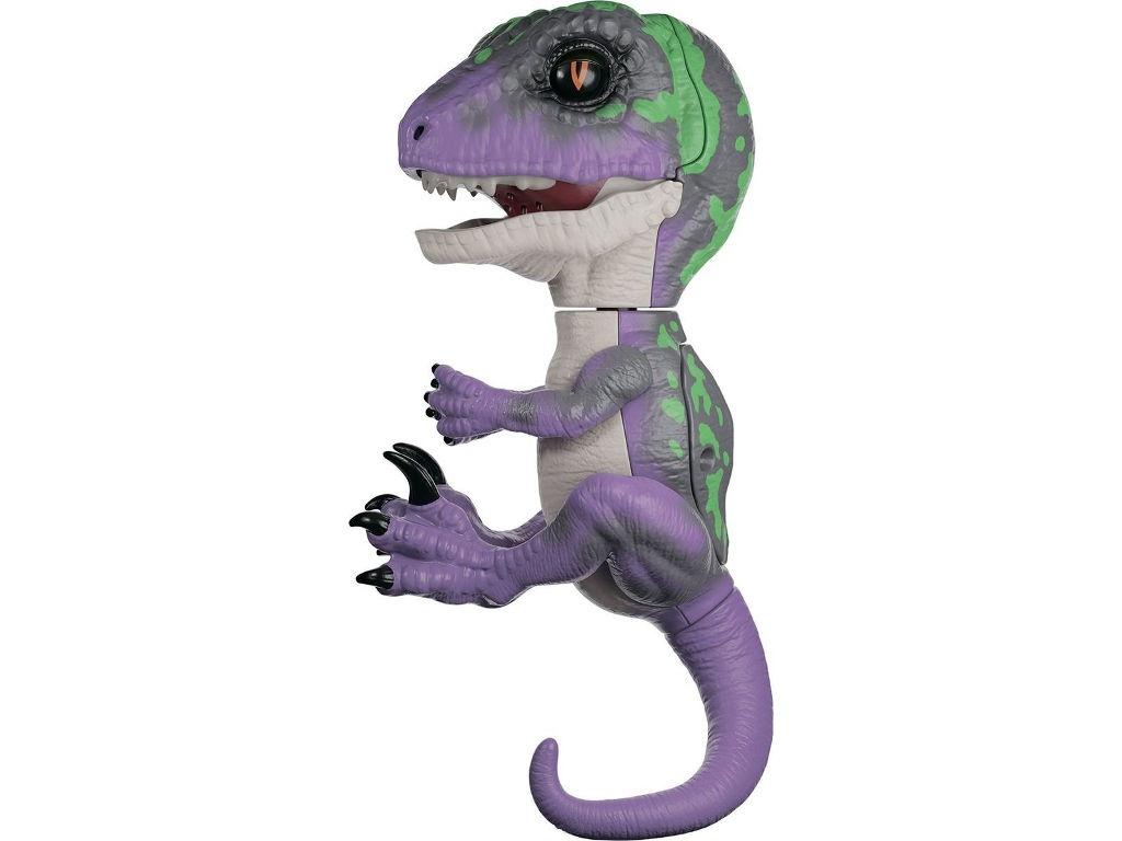 rovio wowwee Игрушка WowWee Fingerlings Динозавр Рейзор Purple - Dark Green 3784
