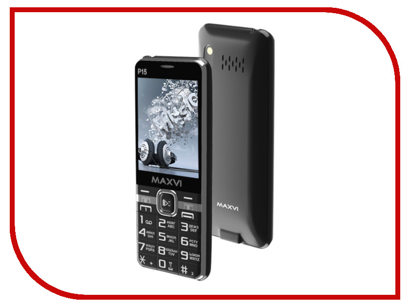 Купить Сотовый телефон Maxvi P15 Black