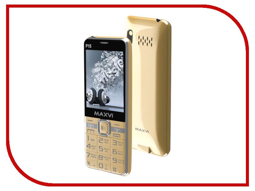Купить Сотовый телефон Maxvi P15 Gold