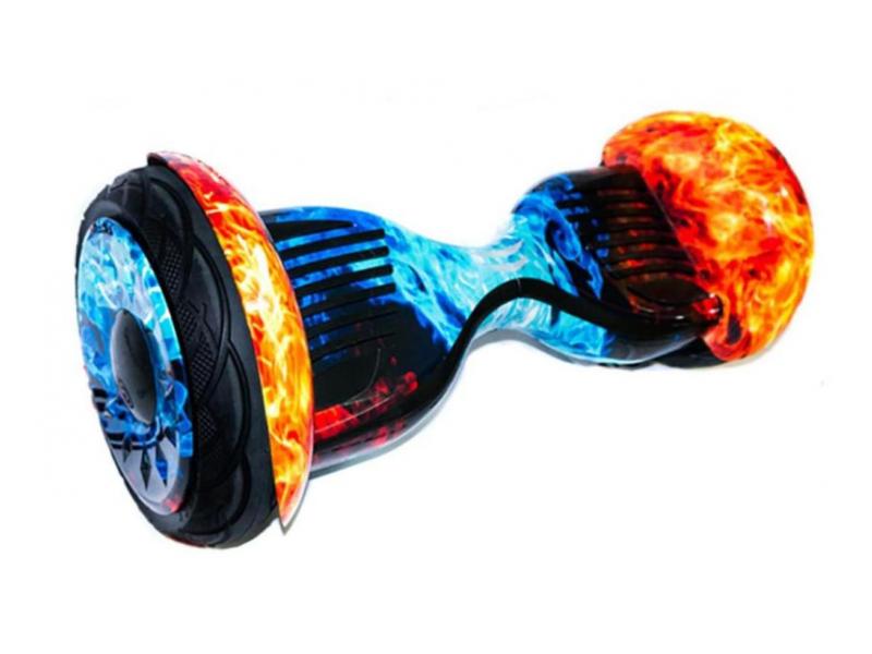 Купить Гироскутер CarCam Smart Balance 10.5 Red Blue Fire
